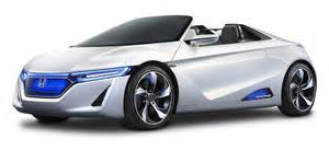 Electric Car Honda Ev Ster Electric Sports Car Png Image Pngpix