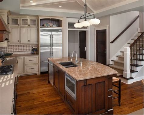 kitchen islands with sink and seating island sink and dishwasher houzz