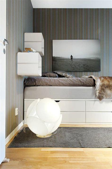 sehr kleine schlafzimmer speicher ideen kleine schlafzimmer einrichten optimale raumnutzung