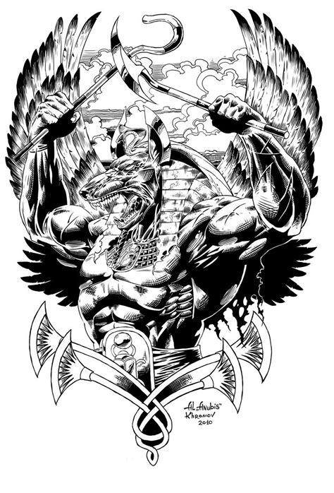 ancient warrior tattoo designs anubis warrior by anubiscomics ideas tattoos