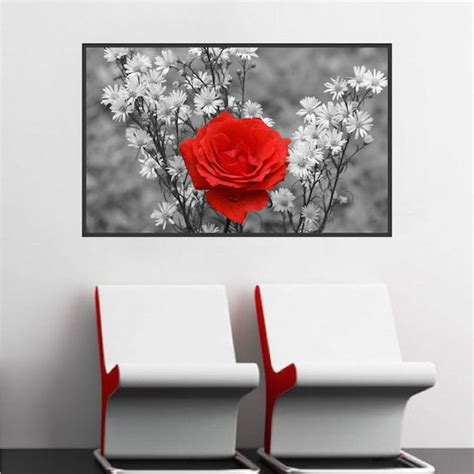Rose Wall Mural rose wall mural decal beautiful wall decal murals