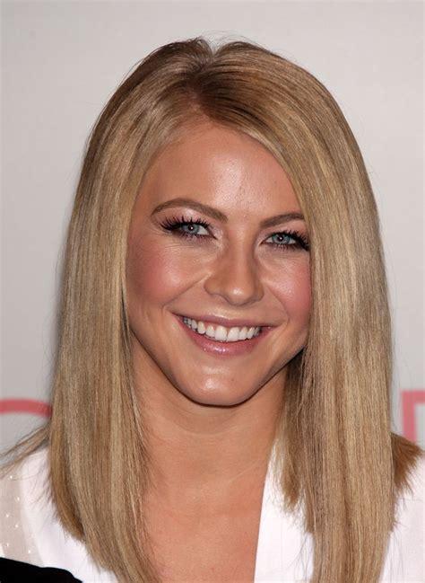Julianne Hough Blunt Long Hair   Hot Haircuts   Pinterest