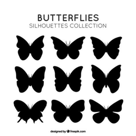 imagenes de mariposas siluetas mariposas fotos y vectores gratis