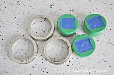 mini solar lights for crafts keep calm and decorate jar solar lights