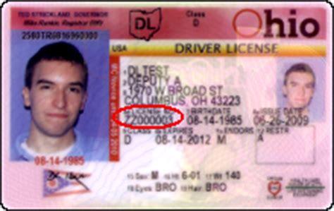 Bmv Number Search Ohio Unique Id Driver S License Calculator Illinois