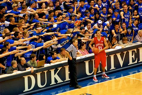 Duke Student Section by Cameron Indoor Stadium Clio