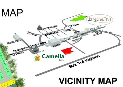 san jose tagaytay map camella lipa houses and condominiums in metro manila