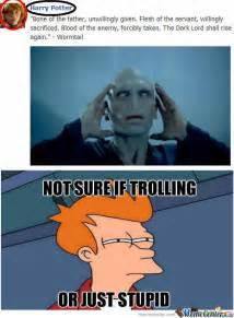 Magician Meme - harry potter troll by dark magician meme center