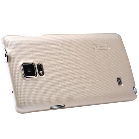 Hardcase For Samsung Galaxy Note 4 nillkin frosted shield samsung galaxy note 4 gold