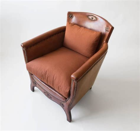 schulz upholstery otto schulz petite original leather brass and silk