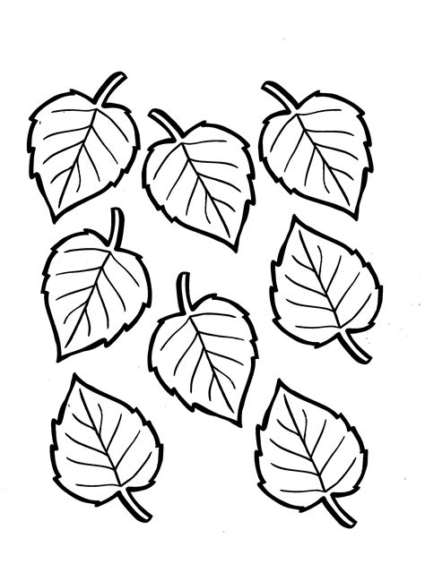 tree leaf coloring pages fall season tree leaf coloring pages womanmate com