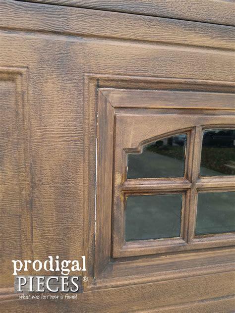 garage door pieces refresh wood easily faux wood garage door update