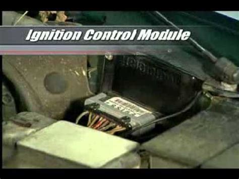 a 101 on the ignition control module youtube