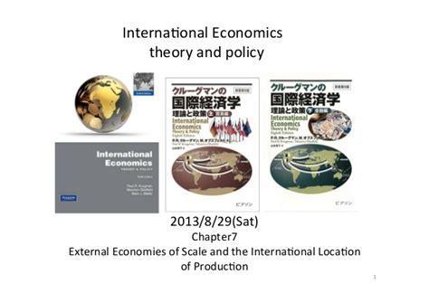 International Economics 1 20130829 international economics chap7