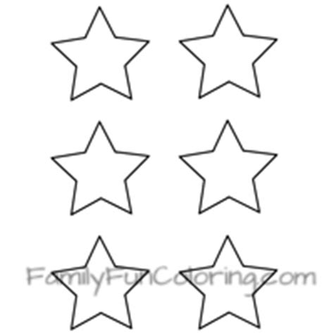 small star coloring page star coloring pages familyfuncoloring