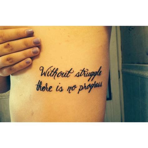 tattoo quotes gym motivation quotes tattoo ribtattoo script struggle