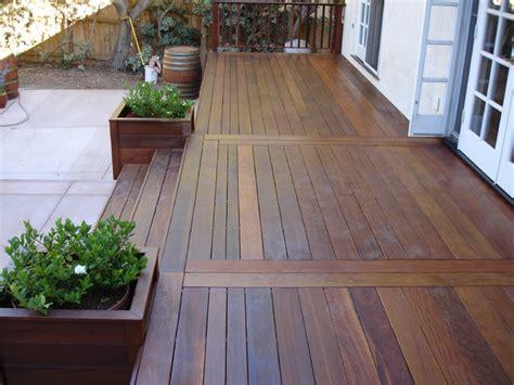 ipe hardwood deck san clemente ca tropical deck orange county by oc deck patio