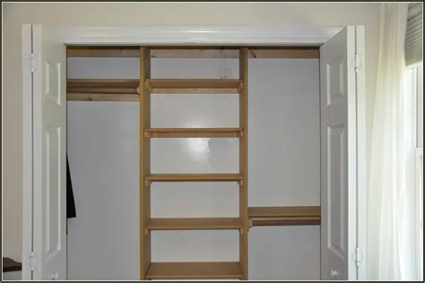 Building Closet Shelves by How To Build Shelves In A Closet Hostyhi