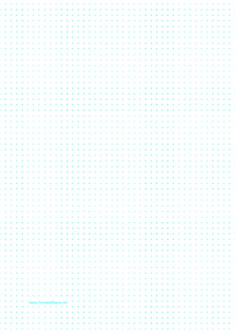 printable dot paper with 5mm spacing on a4 sized paper