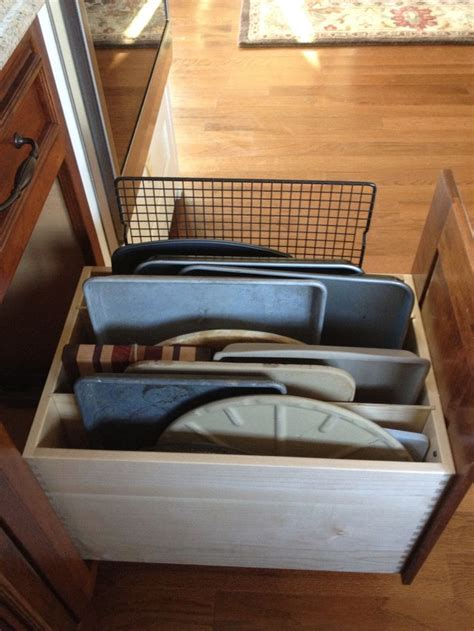 Oven Storage Drawer by Oven Organizer Drawer For The Home