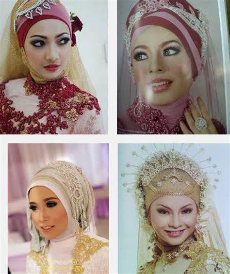 model kerudung untuk pengantin contoh gambar foto model jilbab pengantin muslimah syar i