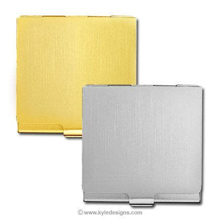 Metal Gift Card Holder - engraved business card holder in silver or gold metalcards info we love metal cards