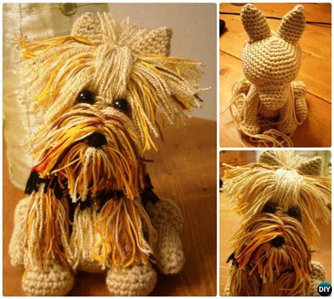 amigurumi yorkie pattern diy crochet amigurumi puppy dog stuffed toy free patterns