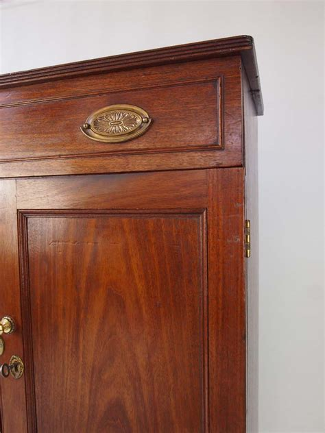 Mahogany Cupboard - antique georgian mahogany cabinet tv cupboard
