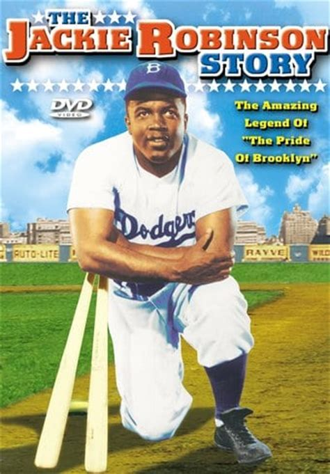 the united states v jackie robinson books the jackie robinson story dvd r 1950 starring jackie