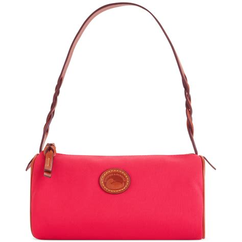 Dooney Bourke Introducing Dooney And Bourke Mini Collection by Lyst Dooney Bourke Small Barrel Bag In Pink