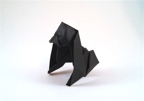 How To Make Origami Gorilla - origami gorillas 1 gilad s origami page
