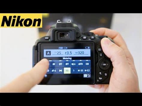 nikon d5600 & d5500 beginners user guide tutorial youtube