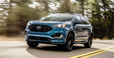ford edge 2019 ford edge st arrives with 335 horsepower the torque