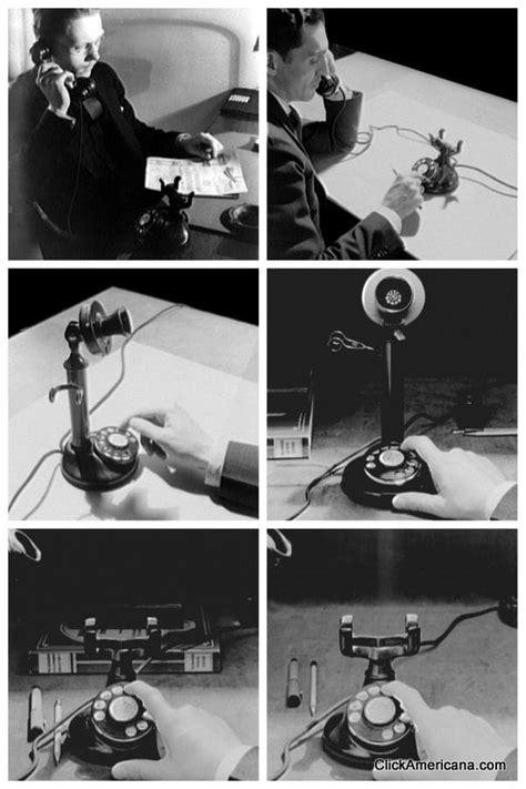Early rotary-dial telephones (1920-1930) - Click Americana