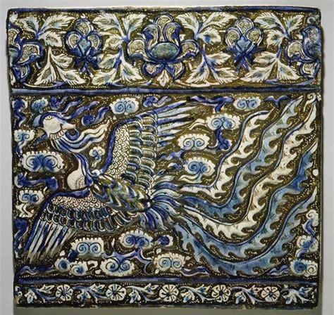 vegetal pattern in islamic art کاشیکاری mandagarana