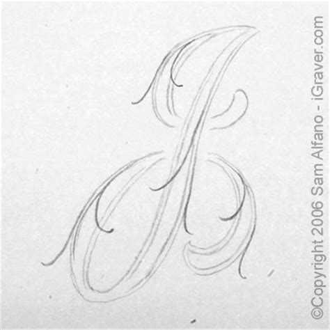 Letter J Drawing by The Gallery For Gt Letter J Drawing