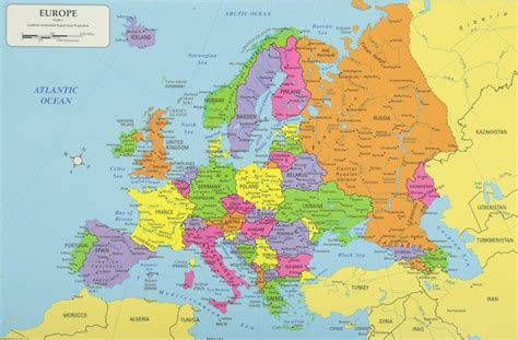 europe country list map europe continent europe map list of countries in