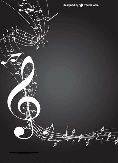 imagenes en blanco y negro de notas musicales clave de sol blanco y negro descargar vectores gratis