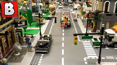 tutorial lego city how to build traffic lights for huge lego city tutorial