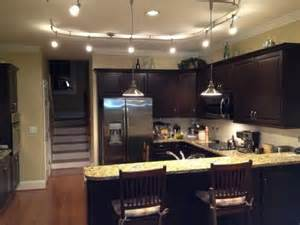 Track Lights Kitchen Kitchen Track Lighting With Pendants Home