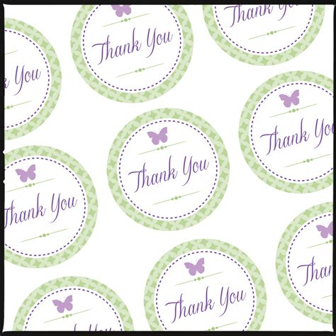 thank you card tag template thank you tags for pretty gift bags a free for