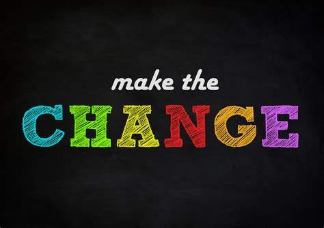 what is chagne made of 5 steps to transformation change your habits and your