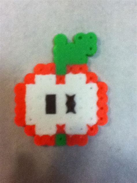 apple perler perler apple by otakuluka on deviantart