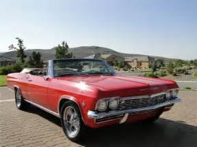 1965 chevrolet impala custom convertible 96890