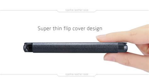 Nillkin Sparkle Leather Flipcover Kode Bn8841 nillkin sparkle series new leather for sony xperia z3