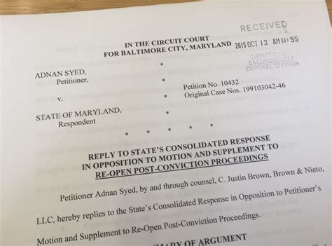 Baltimore City Circuit Court Records 128 Best Images About State Of Maryland Vs Adnan Syed On Timeline