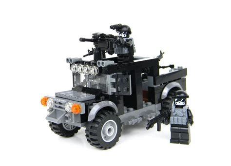 Lego Speciall Forces special forces humvee black ops custom set made