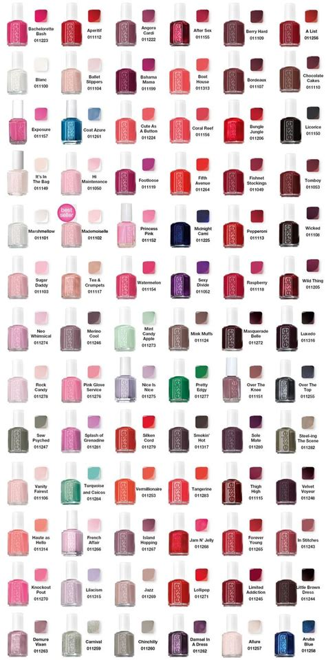 essie colors 25 best ideas about essie on nail