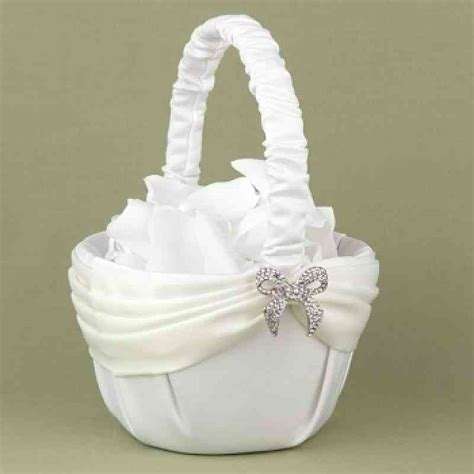 pattern flower girl basket a dazzling beginning flower girl basket wedding collectibles