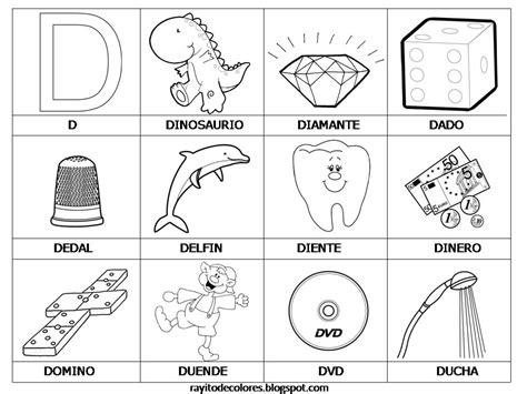 imagenes de cosas que empiecen con letra r palabras con d escuela pinterest palabras letras y